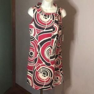 NWT Merona Collection Cool Retro Style Sz6 Dress
